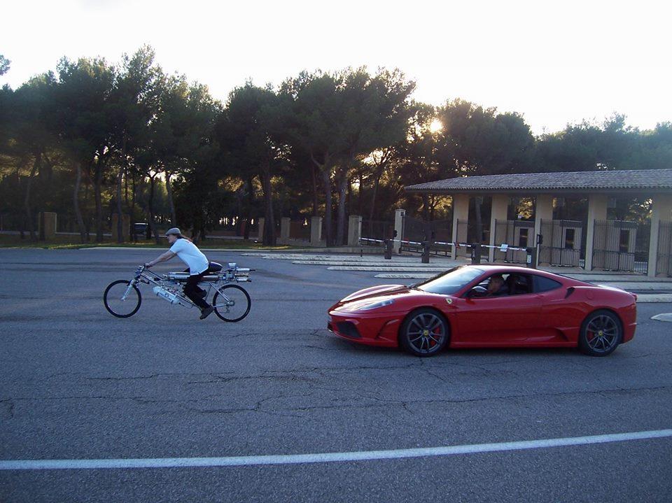 bici ferrari 360 modena