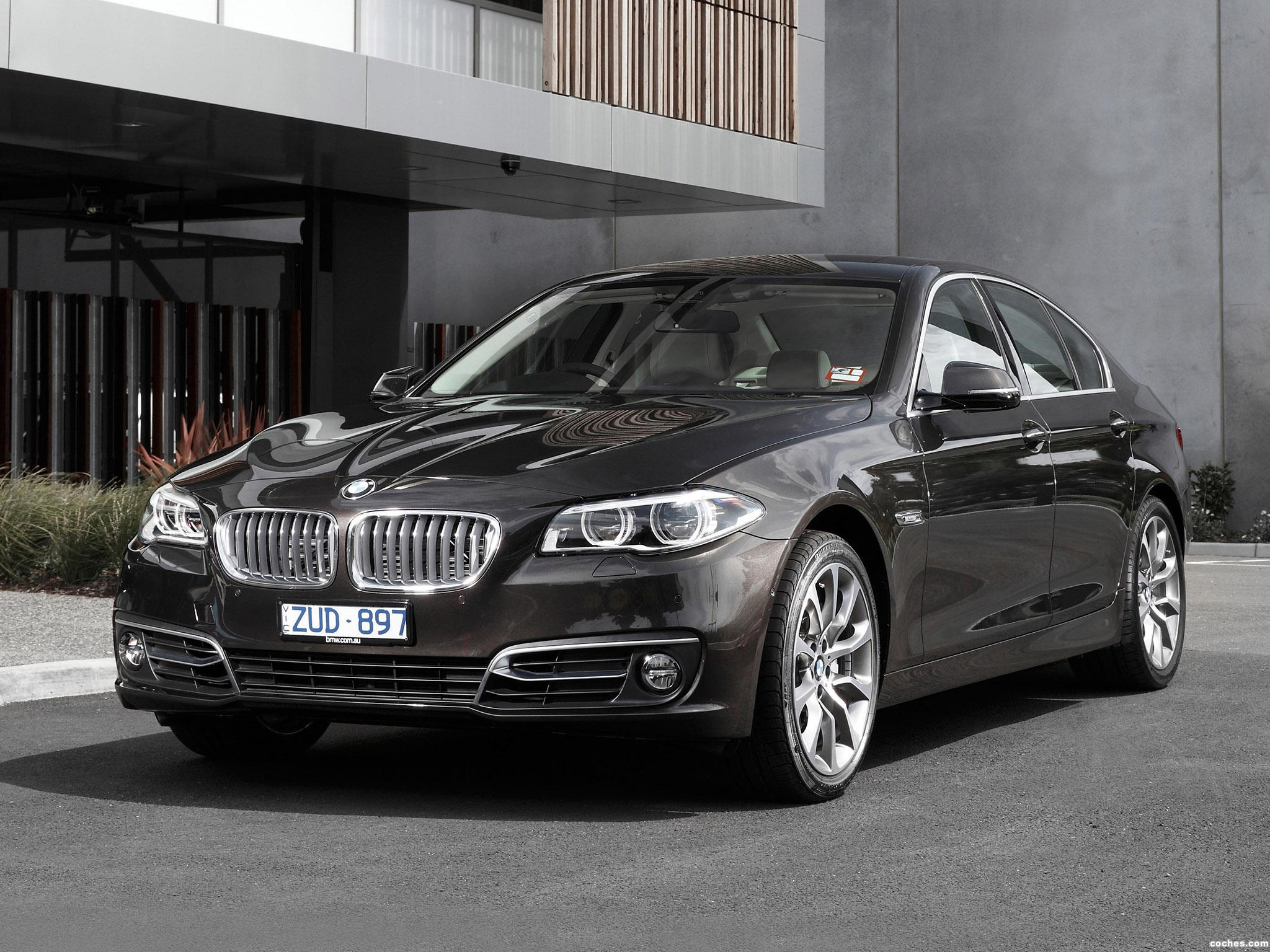 fotos de bmw serie 5 535d sedan f10 australia 2013. Black Bedroom Furniture Sets. Home Design Ideas