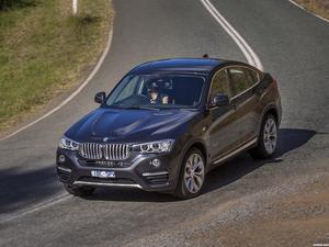 BMW X4 xDrive30d F26 Australia 2014