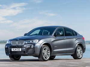 BMW X4 xDrive30d M Sports Package F26 UK  2014