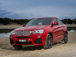 BMW X4 xDrive35i M Sports Package Australia  2014