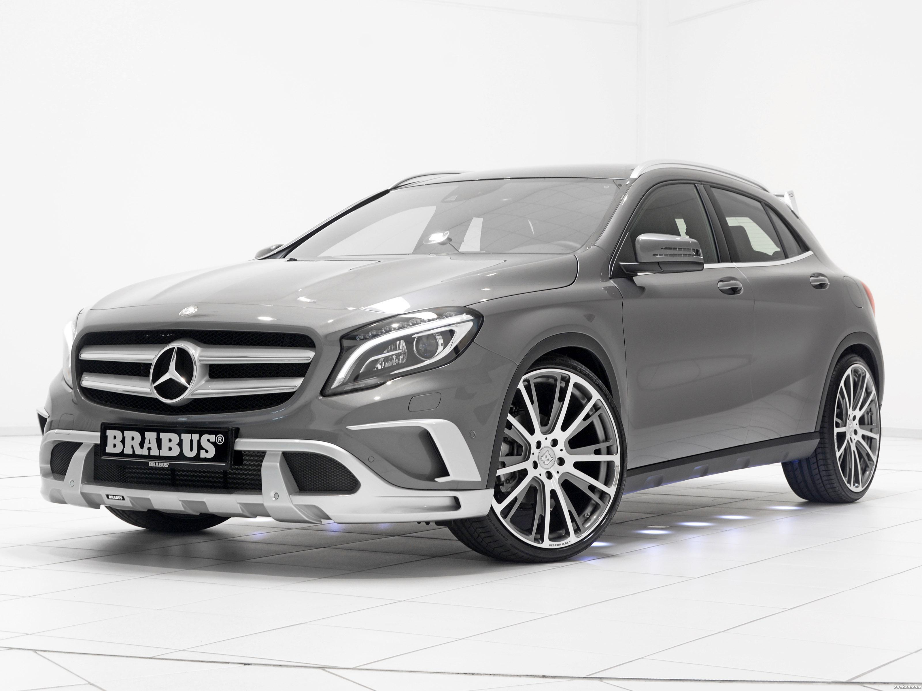 fotos de mercedes brabus clase gla 220 cdi x156 2014 foto 7. Black Bedroom Furniture Sets. Home Design Ideas