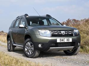 Dacia Duster UK 2014