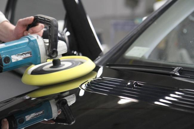 detallado limpieza cera exterior coche