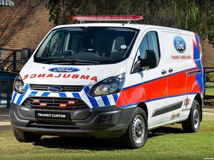 Ford Transit Custom Ambulance 2014