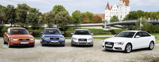 generaciones Audi A4