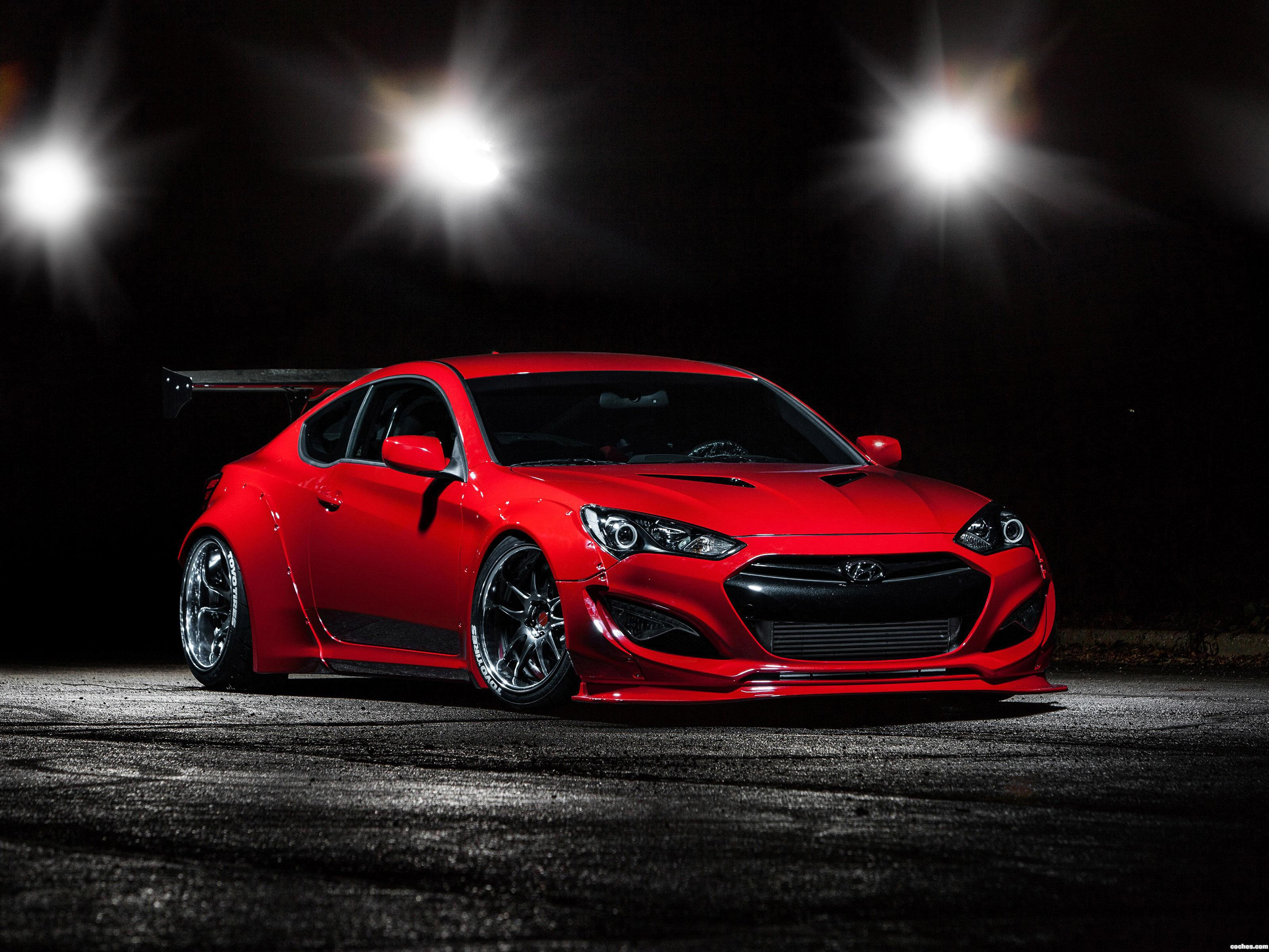 fotos de hyundai genesis coupe btr 2014. Black Bedroom Furniture Sets. Home Design Ideas