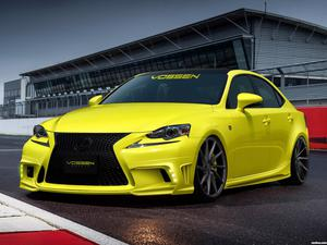 Lexus IS350 F-Sport by Vossen Wheels 2013