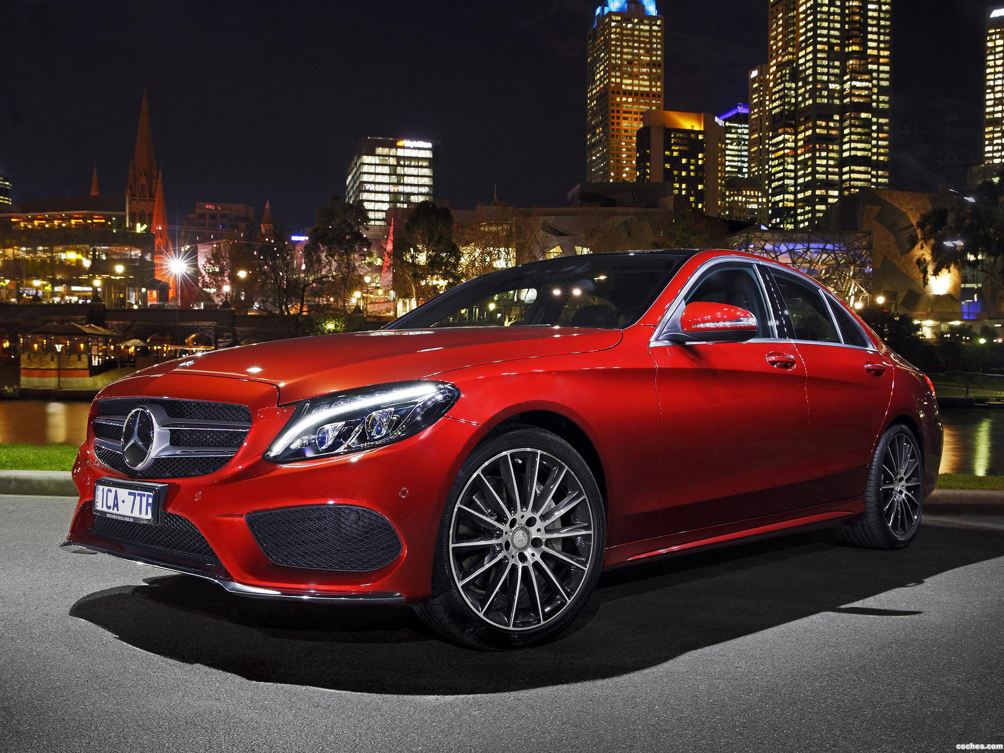 fotos de mercedes clase c c250 amg line w205 australia. Black Bedroom Furniture Sets. Home Design Ideas