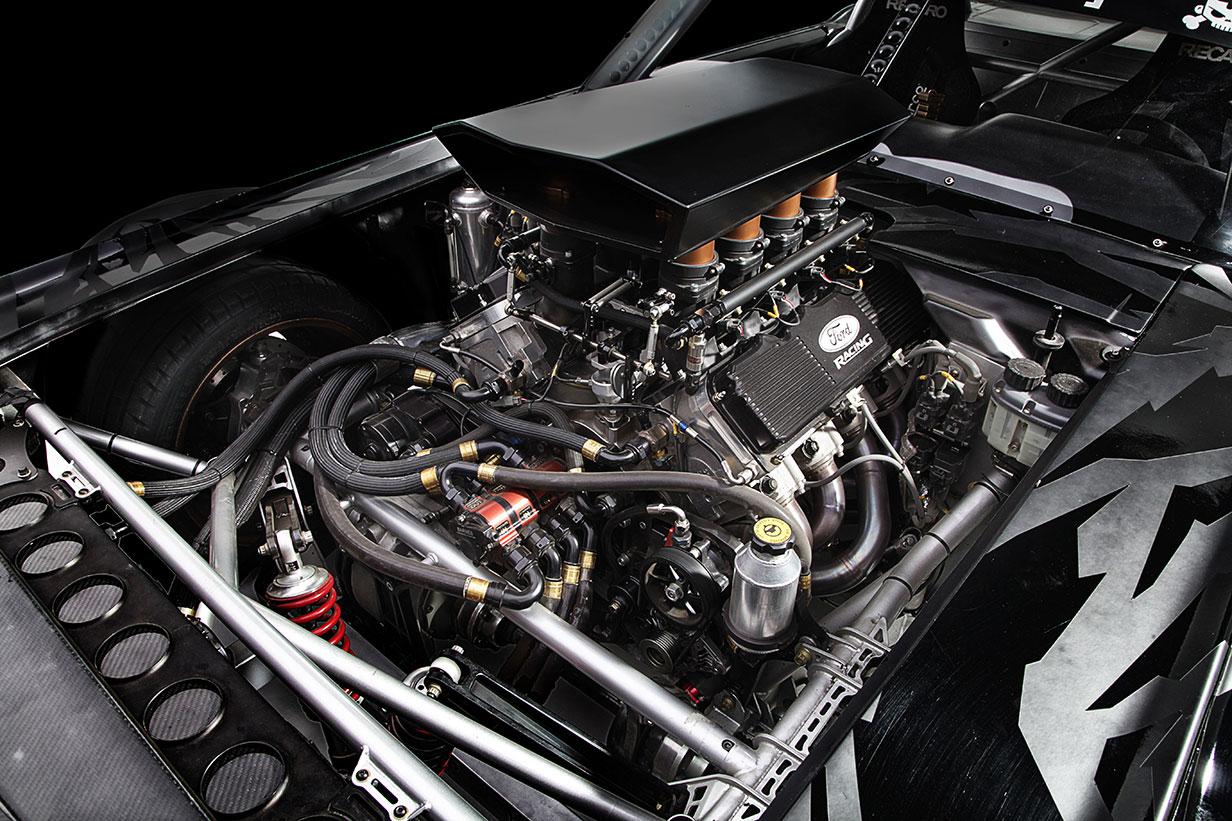 mustang rtr hoonicorn motor v8