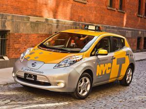 Nissan Leaf Taxi USA 2013
