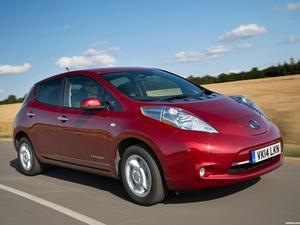 Nissan Leaf UK 2013