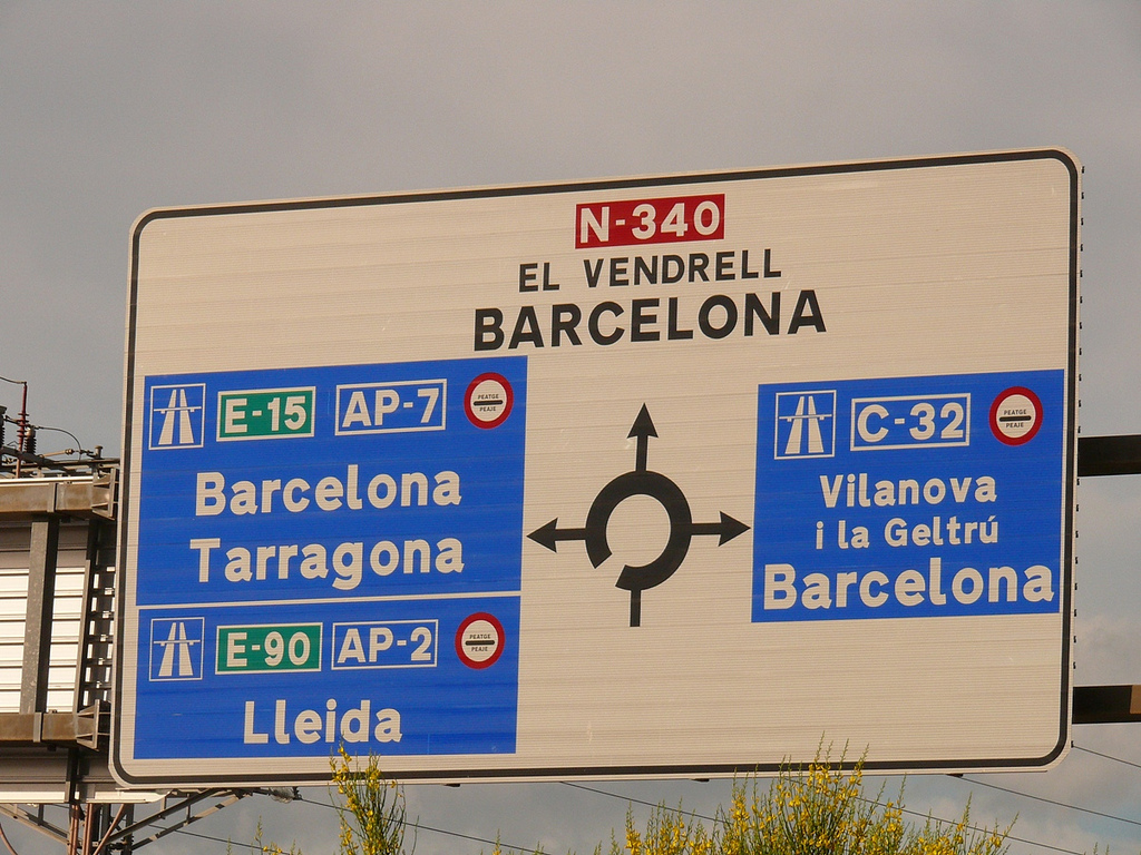 peajes barcelona