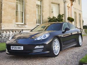 Porsche Panamera 4S 970 UK 2013