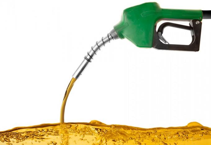 El aceite cocido se disuelve en la gasolina