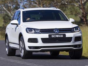 Volkswagen Touareg V8 TDI R-Line Australia  2014