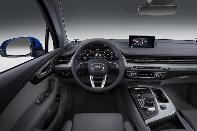 Audi Q7 2015 interior 02