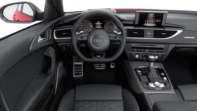 Audi RS 6 2015 interior 10