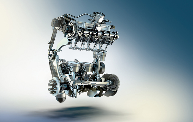 BMW 218i motor