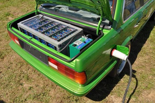BMW Rimas Electric E30 2