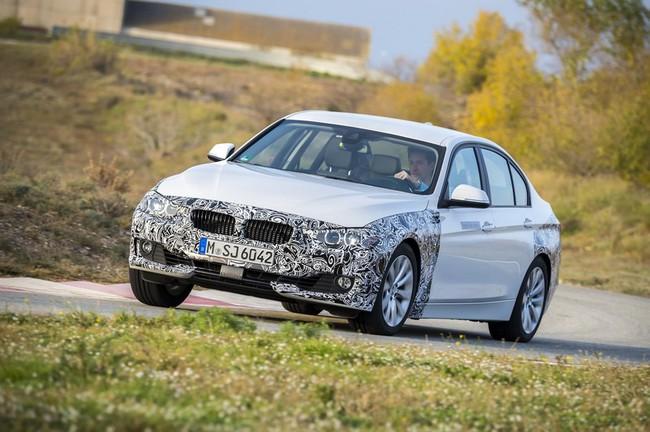 BMW Serie 3 Plug-In Hybrid proto 04