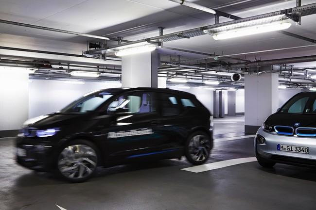 BMW i3 aparcamiento automatico