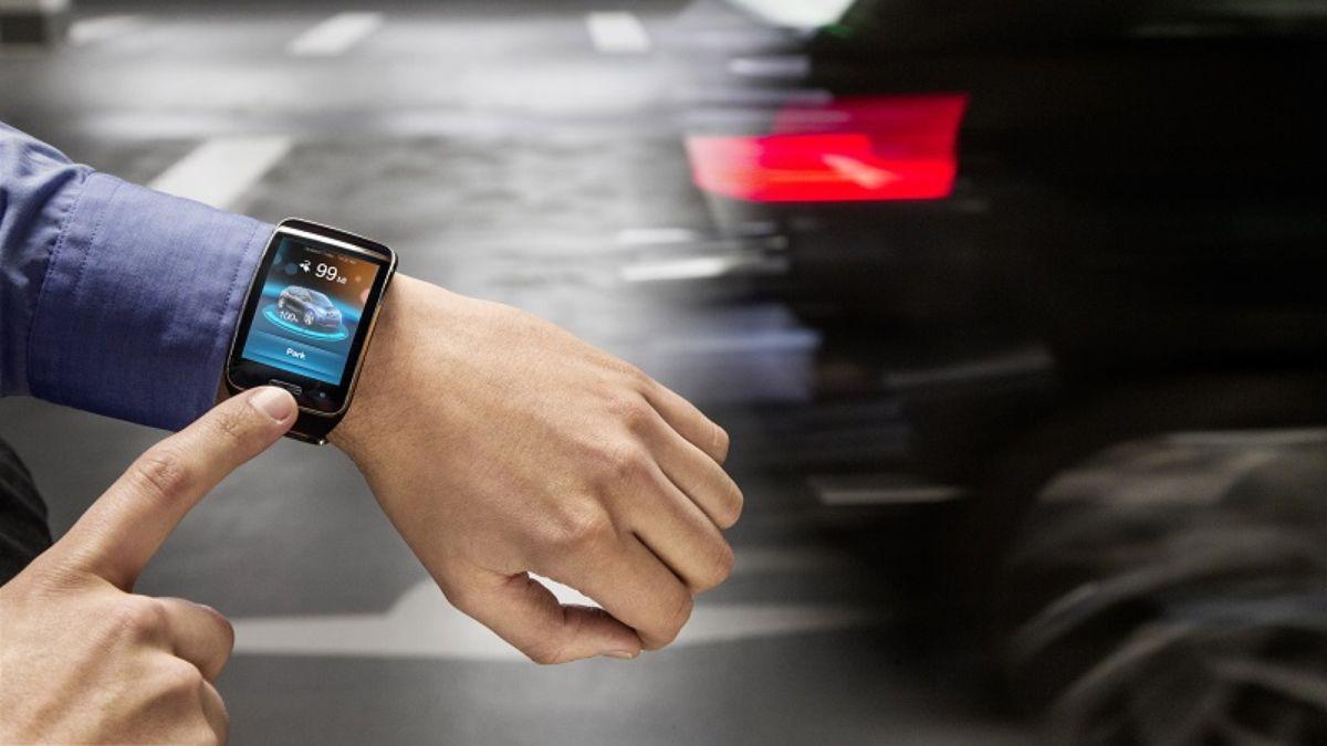 BMW i3 aparcar reloj