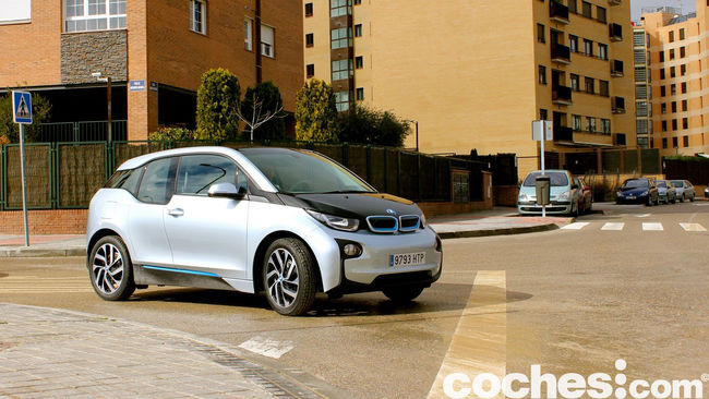 BMW i3 prueba contacto 30