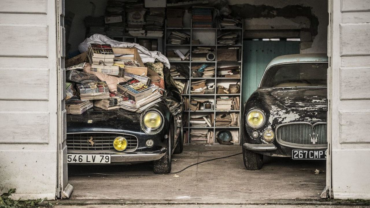 Barn Find coleccion clasicos granero Francia Retromobile 01