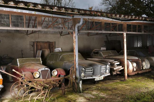 Barn Find coleccion clasicos granero Francia Retromobile 27
