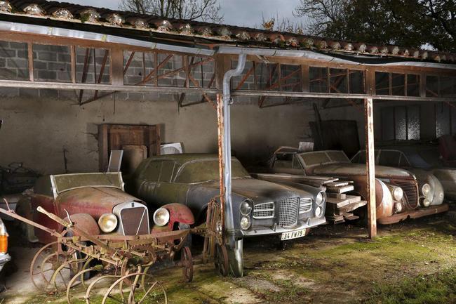 Barn Find coleccion clasicos granero Francia Retromobile 27