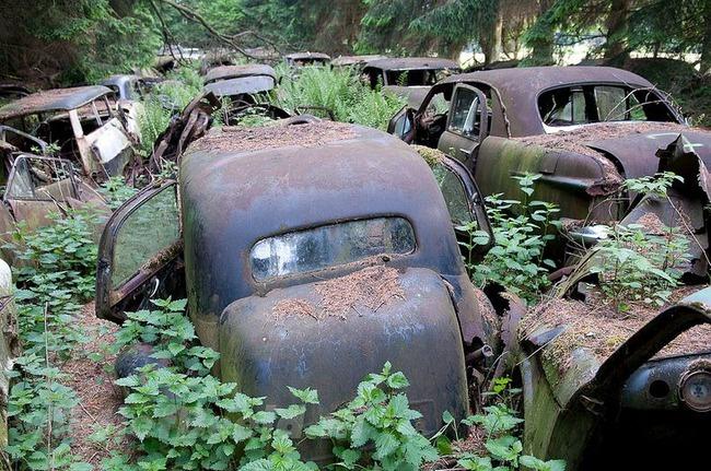 Cementerio de coches de Chatillon  15