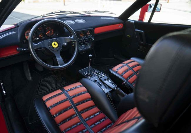 Ferrari 288 GTO 1984 interior 01
