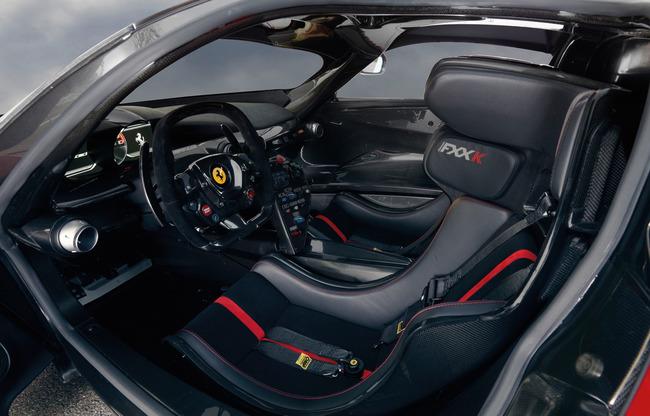 Ferrari FXX K 2014 interior 01