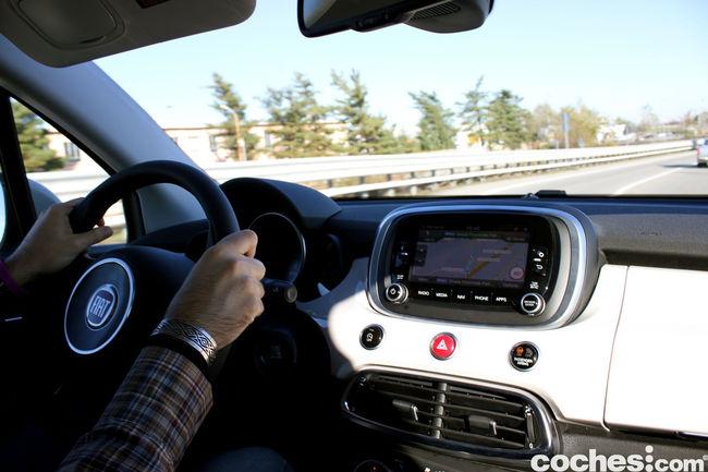 Fiat 500X prueba 90