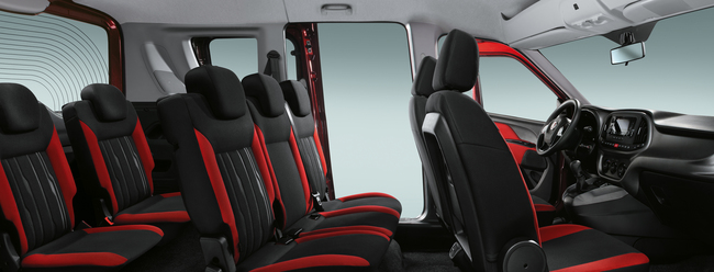 Fiat Doblo 2015 interior 01