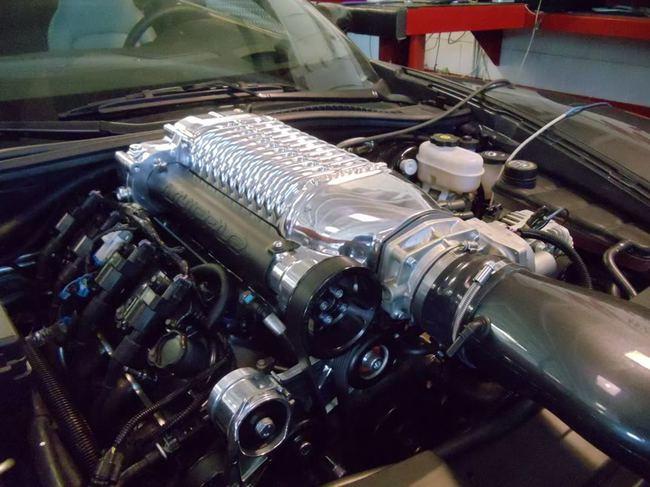 Honda S2000 LS2 compresor
