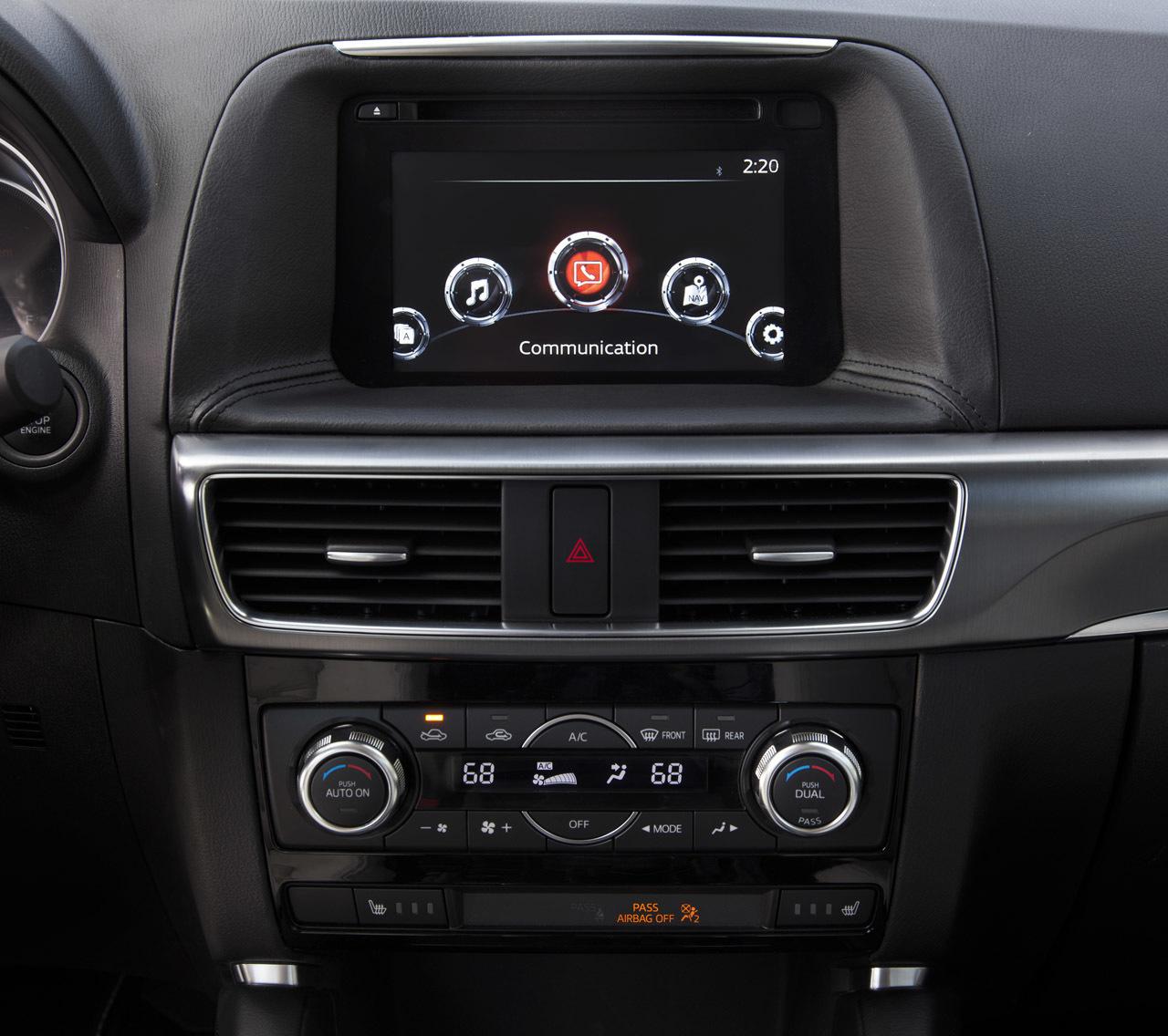 2014 Mazda Cx 5 Interior: Mazda CX-5 2015: Precios, Motores, Equipamientos