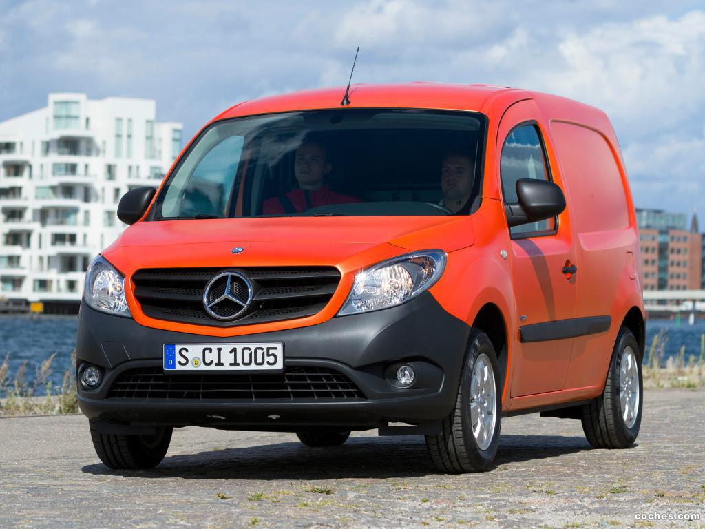 fotos de mercedes citan van 2012 foto 4. Black Bedroom Furniture Sets. Home Design Ideas