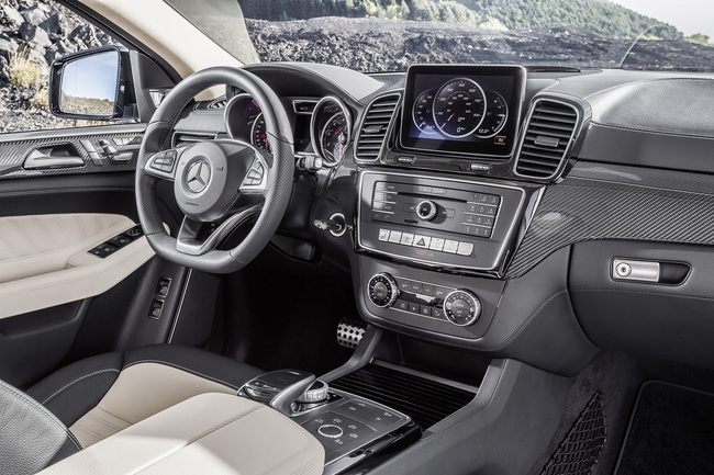 Mercedes-Benz GLE Coupé 2015 interior 01