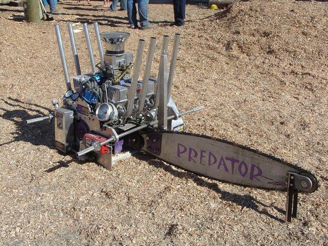 Motosierra V8 Predator