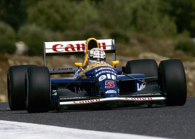 Nigel Mansell  formula 1 1992