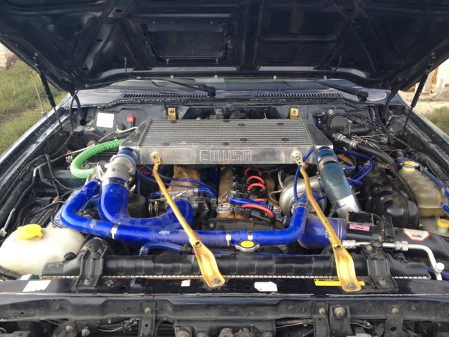Nissan Patrol RB25DET