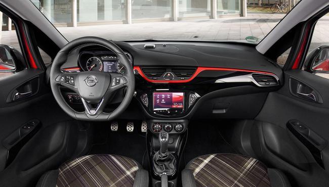 Opel COrsa OPC Line 2015 interior 01