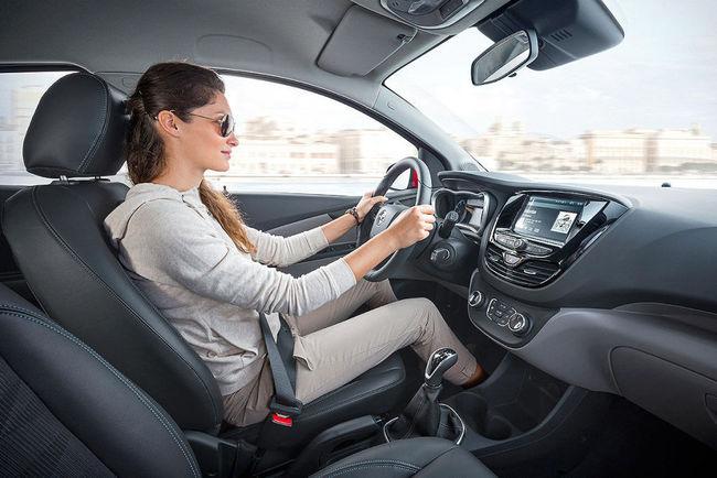 Opel Karl 2015 interior 01