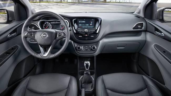 Opel Karl 2015 interior 03