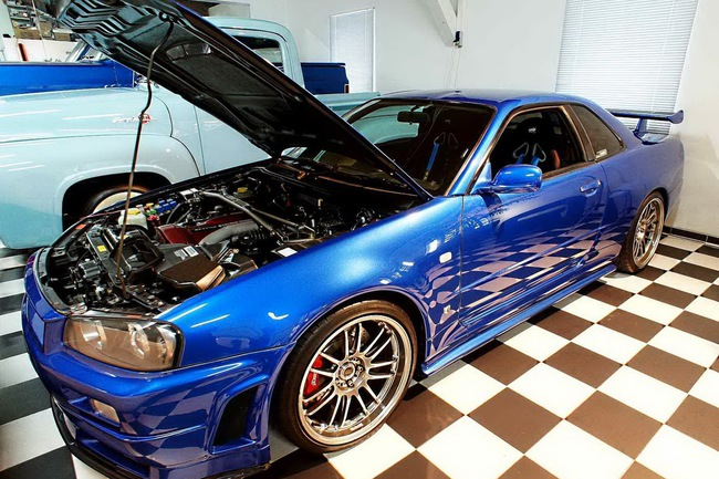 Paul Walker Nissan Skyline R34 GT R 2 650x433 Se vende el Nissan Skyline GT R de Paul Walker que rodó en Fast and Furious 4