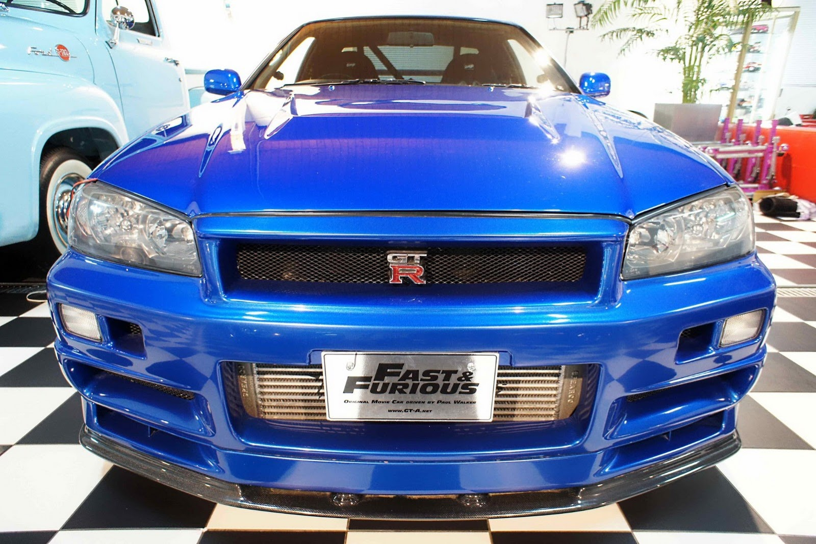 Paul Walker Nissan Skyline R34 GT-R (3)