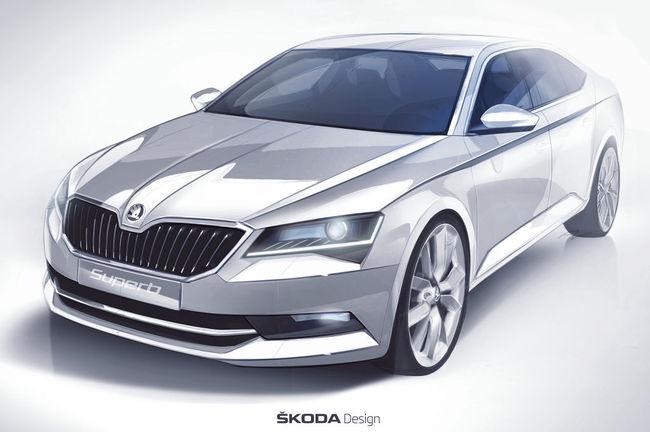 Skoda Superb 2015 avance 02