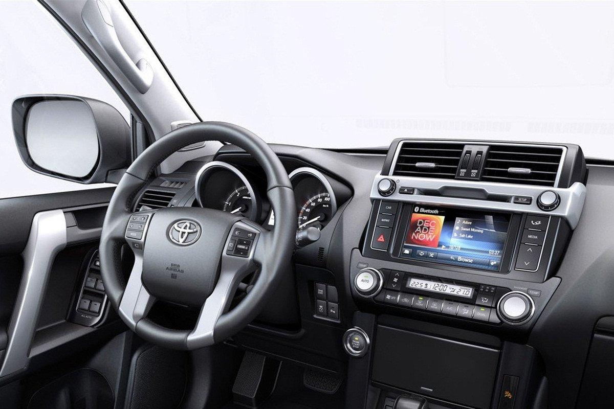Toyota Land Cruiser Interior on Toyota Land Cruiser Prado Diesel